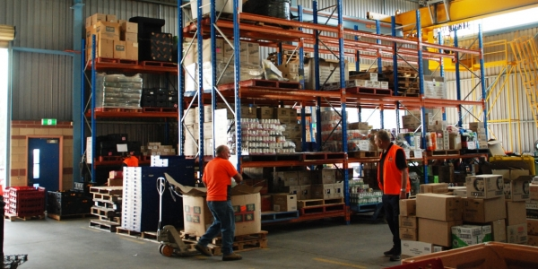 Wanted! A warehouse for FoodShare