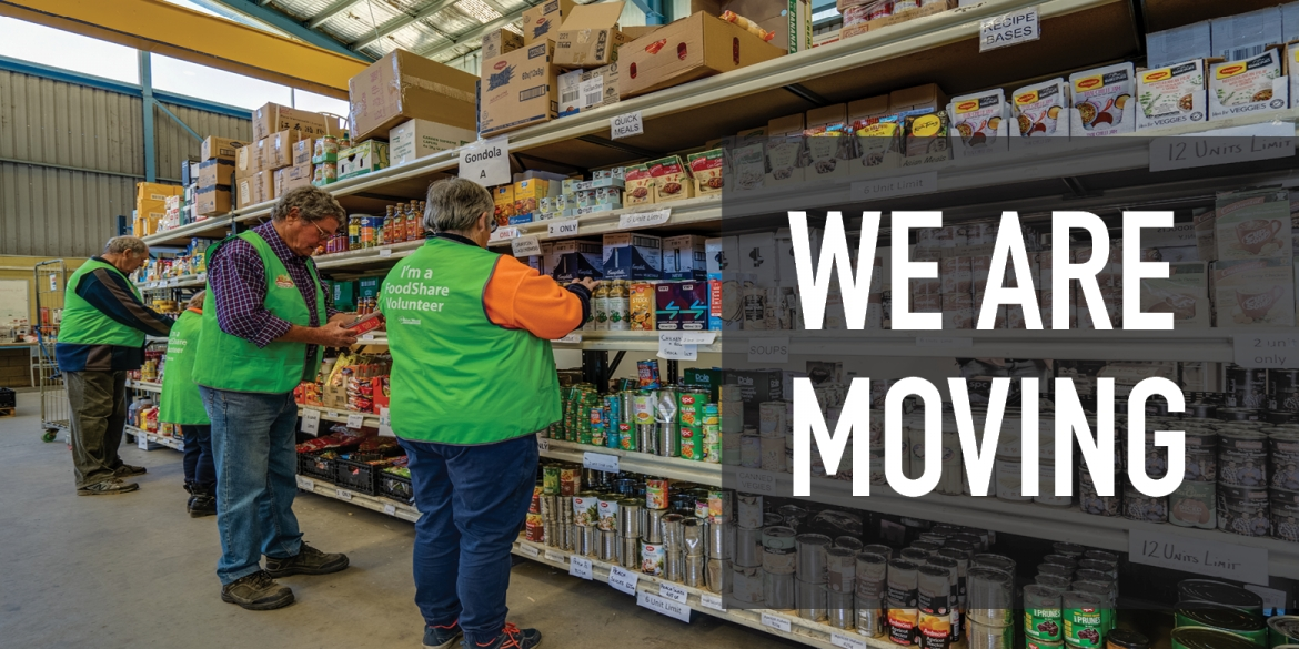 We are moving to a new Warehouse