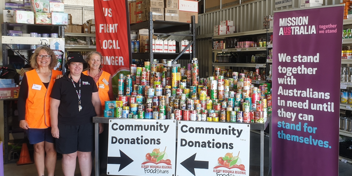 Canned food drive will feed 500 families